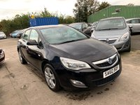 USED 2010 60 VAUXHALL ASTRA 1.6 EXCLUSIV 5d 113 BHP FULL SERVICE HISTORY