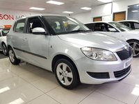 USED 2014 14 SKODA FABIA 1.2 SE 12V 5d+LADY OWNERS+SERVICE HISTORY+AIR CON+ALLOYS+LOW INSURANCE+