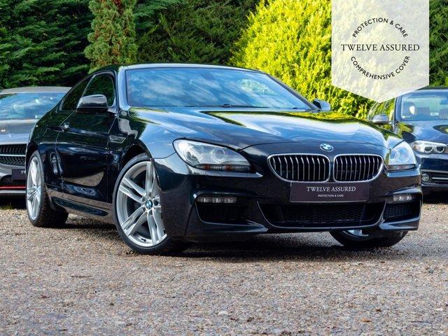 USED 2014 63 BMW 6 SERIES 3.0 640D M SPORT 2d AUTO 309 BHP
