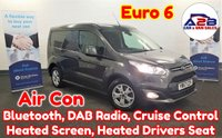 2017 FORD TRANSIT CONNECT 1.5 TDCi LIMITED 120 BHP Euro 6 in Ford Magnetic Grey Metallic, with Great Spec Including Air Conditioning, Bluetooth, Alloys, Cruise Control, Heated Drivers Seat and much more £11680.00