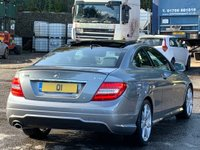 USED 2014 64 MERCEDES-BENZ C CLASS 2.1 C250 CDI AMG Sport Edition (Premium Plus) 7G-Tronic Plus 2dr PanRoof/ReverseCam/AMGPack/NAV