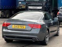 USED 2013 13 AUDI A5 3.0 TDI Black Edition S Tronic quattro 2dr HeatedSeats/B&O/FlatBottom