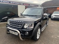 USED 2014 64 LAND ROVER DISCOVERY 3.0 SD V6 XS Panel Van 5dr FULL SERVICE HISTORY