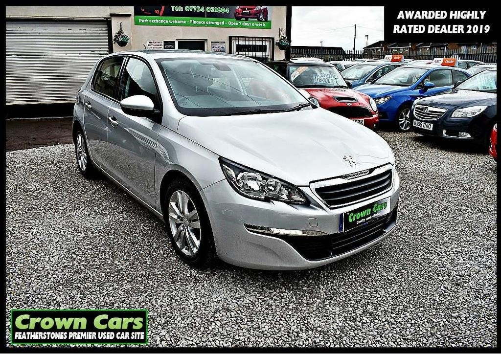 USED 2014 64 PEUGEOT 308 1.6 HDi Active 5dr 3 MONTHS WARRANTY & PDI CHECKS