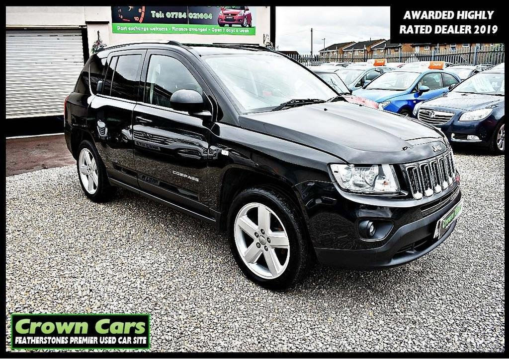 USED 2011 61 JEEP COMPASS 2.2 CRD Limited 5dr 3 MONTHS WARRANTY & PDI CHECKS