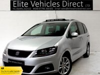 2014 SEAT ALHAMBRA 2.0 TDI CR SE LUX 5d 177 BHP £12991.00