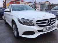 USED 2015 15 MERCEDES-BENZ C CLASS 2.1 C220 BLUETEC SE EXECUTIVE 4d AUTO 170 BHP Diesel, automatic, white, 51000 miles, super economy, £20 per year road tax. Stunning, great value.