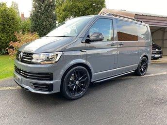 2019 VOLKSWAGEN TRANSPORTER 69reg Volkswagen T6 Transporter 120 miles Pure Grey Custom Kombi £28500.00