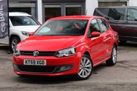 USED 2009 59 VOLKSWAGEN POLO 1.4 SEL DSG 5 DOOR AUTO 85 BHP PETROL AUTOMATIC * CRUISE CONTROL * PARKING SENSORS *