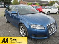 USED 2009 59 AUDI A3 1.6 SPORTBACK MPI TECHNIK 5d 101 BHP ALLOYS CD AIRCON ELECTRIC PACK