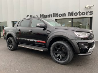 "2019 FORD RANGER 3.2 WILDTRAK TDCI  AUTO 198 BHP 20""A/W BODY KIT FULL LEATHER INT £29995.00"
