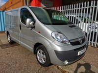 USED 2014 14 VAUXHALL VIVARO 2700 L1 H1 SWB SPORTIVE 115 *AIR CON*1 OWNER* ONE OWNER - PLY LINED - AIR CONDITIONING