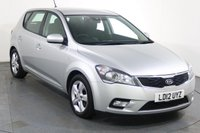 USED 2012 12 KIA CEED 1.6 2 5d AUTO 124 BHP Demo and 2 OWNERS From New with 7 Stamp SERVICE HISTORY