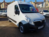 2015 VAUXHALL MOVANO F3500 L2 H2 MWB Medium roof 123 BHP *AIR CON*ONLY 52000 MILES* £9495.00