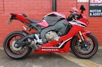 USED 2018 68 HONDA CBR 1000 RR H 188 BHP A Stunning Low Mileage Fireblade, Finance and delivery Available.