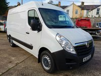 USED 2012 62 VAUXHALL MOVANO 2.3 F3500 L2H2 MWB Medium roof CDTI 124 BHP *AIR CON*ONLY 48k* AIR  CON - LOCALLY OWNED - S/HISTORY
