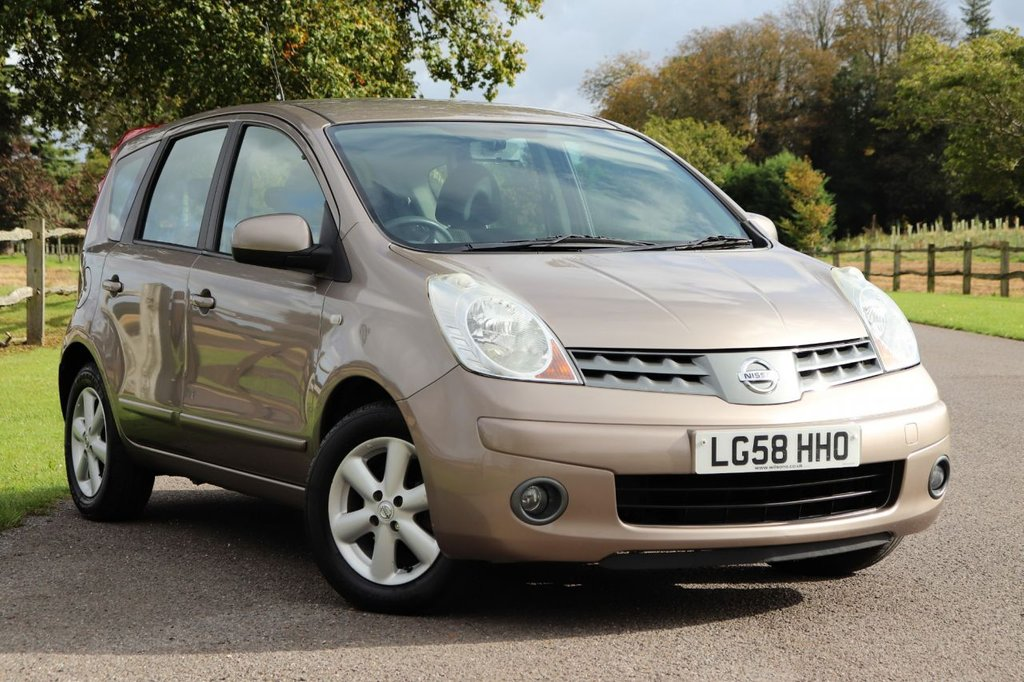 USED 2008 58 NISSAN NOTE 1.6 ACENTA 5d 109 BHP Nissan Note 1.6 16v Acenta 5dr Recently Service + Long Mot