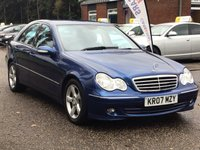 USED 2007 07 MERCEDES-BENZ C CLASS 1.8 C180 KOMPRESSOR AVANTGARDE SE 4d AUTO 141 BHP
