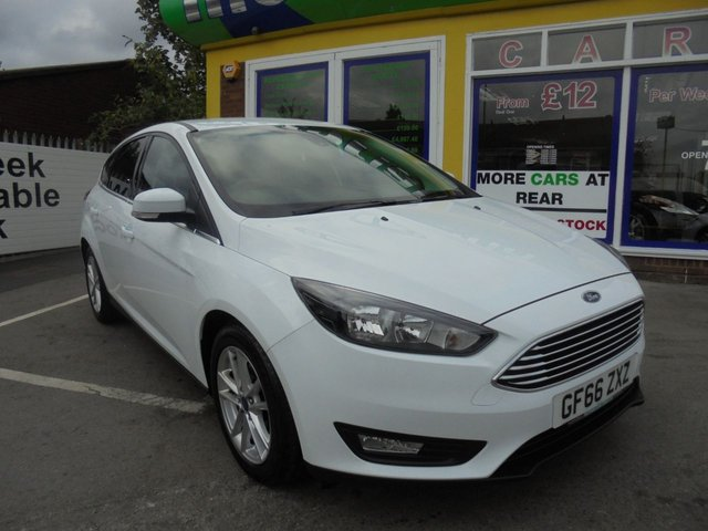 USED 2016 66 FORD FOCUS 1.0 ZETEC 5d 100 BHP ** 01543 454566 ** JUST ARRIVED **