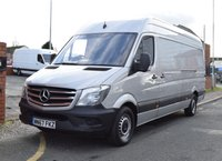 USED 2017 67 MERCEDES-BENZ SPRINTER 2.1 314 CDI LWB HIGH ROOF 140 BHP