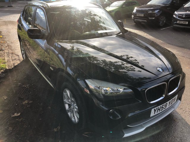 USED 2009 59 BMW X1 2.0 XDRIVE20D SE 5d 174 BHP BMW X1 IN VERY GOOD CONDITION WITH EXCELLENT SERVICE HISTORY . LAST SERVICED AT 104OOO MILES , ALL STAMPS ARE MAIN DEALER . VEHICLE COMES WITH A FULL 12 MONTHS MOT AND A SERVICE . VERY GOOD SPEC  , VERY CLEAN INTERIOR SET IN A LOVELY BINDING RED .
