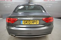 USED 2013 13 AUDI A5 2.0 SPORTBACK TDI S LINE 5d AUTO 177 BHP Xenons, Sat Nav, Bluetooth, Full Leather