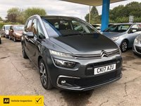 2017 CITROEN C4 GRAND PICASSO 1.6 BLUEHDI FEEL S/S 5d 118 BHP £11499.00