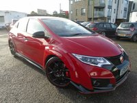 USED 2015 15 HONDA CIVIC 2.0 I-VTEC TYPE R GT 5d 306 BHP HIGH PERFORMANCE+GREAT HISTORY