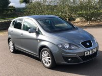 2012 SEAT ALTEA 1.6 SE ECOMOTIVE CR TDI 5d 103 BHP £4495.00