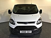 USED 2017 66 FORD TRANSIT CUSTOM 2.0 270 LR P/V EURO 6  EURO 6, ULTRA LOW EMISSION ZONE COMPLIANT