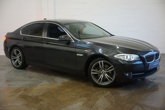 2012 62 BMW 5 SERIES 2.0 520D EFFICIENTDYNAMICS 4d 181 BHPSOLD TO BEN FROM HOLFIRTH
