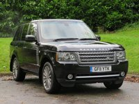 USED 2011 11 LAND ROVER RANGE ROVER 5.0 V8 AUTOBIOGRAPHY 5d AUTO 500 BHP TOP SPEC. & 5.0L SUPERCHARGED!