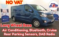 USED 2016 16 VAUXHALL VIVARO 1.6 2900  CDTI L.W.B SPORTIVE 115 BHP + NO VAT TO PAY+, Long Wheel Base, AirCon,Bluetooth, Cruise, DAB Radio, Rear parking sensors and more ...  **Drive Away Today** Over The Phone Low Rate Finance Available, Just Call us on 01709 866668**