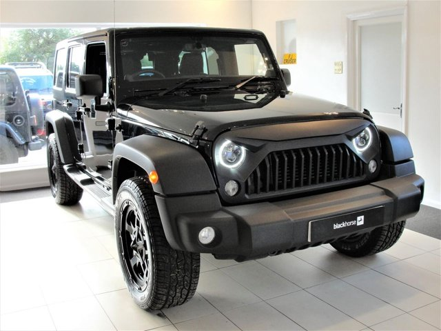 2016 16 JEEP WRANGLER 2.8 SPORT UNLIMITED CRD 4d AUTO  Reserved For Michael             197 BHP, Fully Loaded, JEEPSTER Exhaust, Apple Carplay