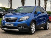 2016 VAUXHALL MOKKA 1.6 SE CDTI 5d AUTO 134 BHP £8995.00