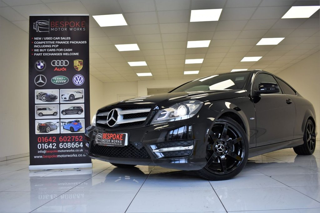 USED 2011 61 MERCEDES-BENZ C CLASS C180 1.8 BLUEEFFICIENCY AMG SPORT EDITION 125