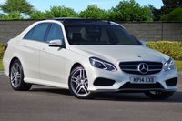 USED 2014 14 MERCEDES-BENZ E CLASS 3.0 E350 BLUETEC AMG SPORT 4d AUTO 249 BHP Huge Spec FMBSH