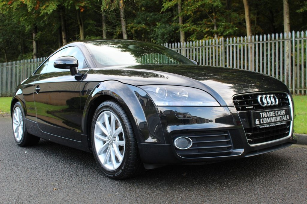 USED 2011 61 AUDI TT 2.0 TFSI QUATTRO SPORT 2d AUTO 211 BHP ONE OWNER, LOW MILEAGE AND AUDI SERVICE HISTORY!!!