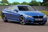 USED 2016 66 BMW 4 SERIES 3.0 440I M SPORT 2d AUTO 322 BHP