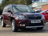 USED 2015 65 SKODA YETI 1.2 SE TSI DSG 5d AUTO 109 BHP 1 OWNER FROM NEW