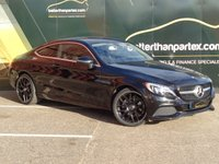 USED 2016 16 MERCEDES-BENZ C CLASS 2.1 COUPE 220 D SPORT AUTOMATIC 1 OWNER HUGE SPEC LOW MILEAGE No Deposit Finance & Part Ex Available