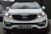USED 2012 62 KIA SPORTAGE 1.6 GDi 2 2WD 5dr FSH,PAN,FINANCE,WARRANTY,ULEZ