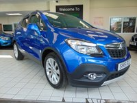 USED 2015 15 VAUXHALL MOKKA 1.7 SE CDTI 5d AUTO 128 BHP FULL SERVICE HISTORY + AUGUST 2020 MOT + BLUETOOTH + FULL LEATHER TRIM + HEATED SEATS + DAYTIME RUNNING LIGHTS + ALLOYS + CLIMATE CONTROL + CRUISE CONTROL + ELECTRIC WINDOWS + REMOTE CENTRAL LOCKING + PRIVACY GLASS + DAB RADIO