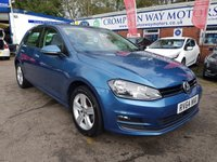 USED 2014 64 VOLKSWAGEN GOLF 1.6 MATCH TDI BLUEMOTION TECHNOLOGY 5d 103 BHP 0%  FINANCE AVAILABLE ON THIS CAR PLEASE CALL 01204 393 181