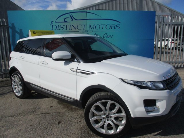USED 2012 12 LAND ROVER RANGE ROVER EVOQUE 2.2 ED4 PURE 5d 150 BHP