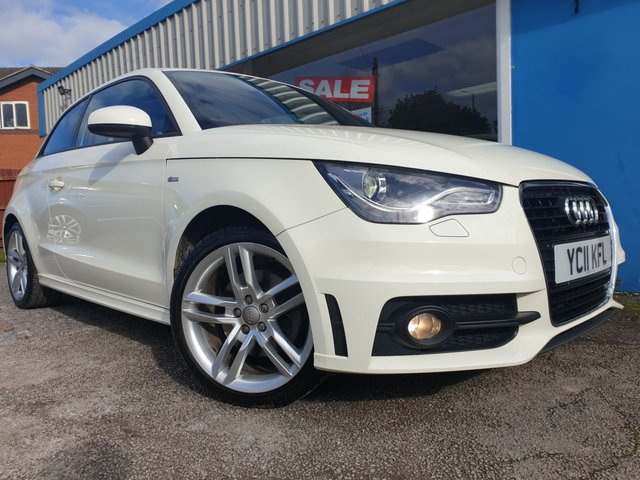 USED 2011 11 AUDI A1 1.4 TFSI S LINE 3d 122 BHP EXTENSIVE HISTORY 6 STAMPS!