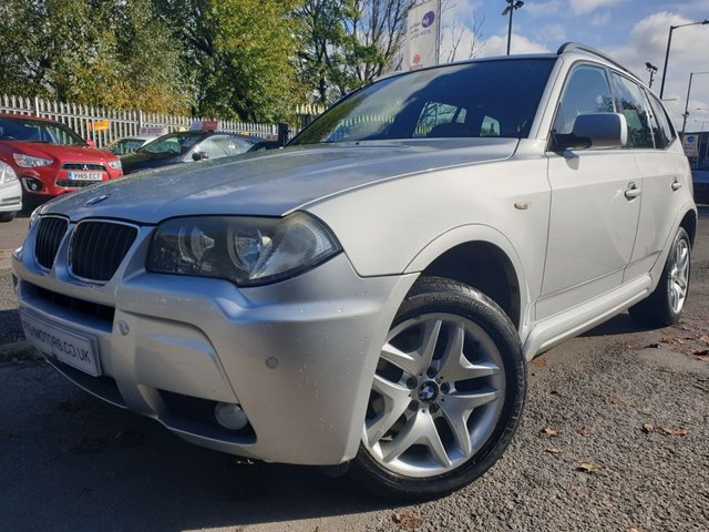 USED 2007 57 BMW X3 2.0 D M SPORT 5d 175 BHP RECENT TIMING CHAIN-TURBO+SERVICE+LEATHER SEATS+CLIMATE+CRUISE+