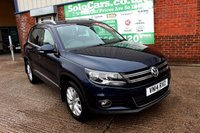USED 2014 14 VOLKSWAGEN TIGUAN 2.0 MATCH TDI BLUEMOTION TECHNOLOGY 4MOTION 5d 139 BHP +PARK ASSIST +FSH +TIMING DONE