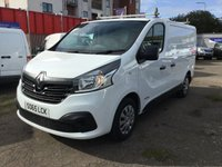 USED 2015 65 RENAULT TRAFIC 1.6 SL27 BUSINESS PLUS DCI S/R P/V NO VAT NO VAT