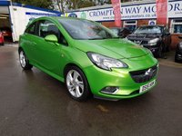 USED 2015 15 VAUXHALL CORSA 1.4 SRI VX-LINE S/S 3d 99 BHP 0%  FINANCE AVAILABLE ON THIS CAR PLEASE CALL 01204 393 181